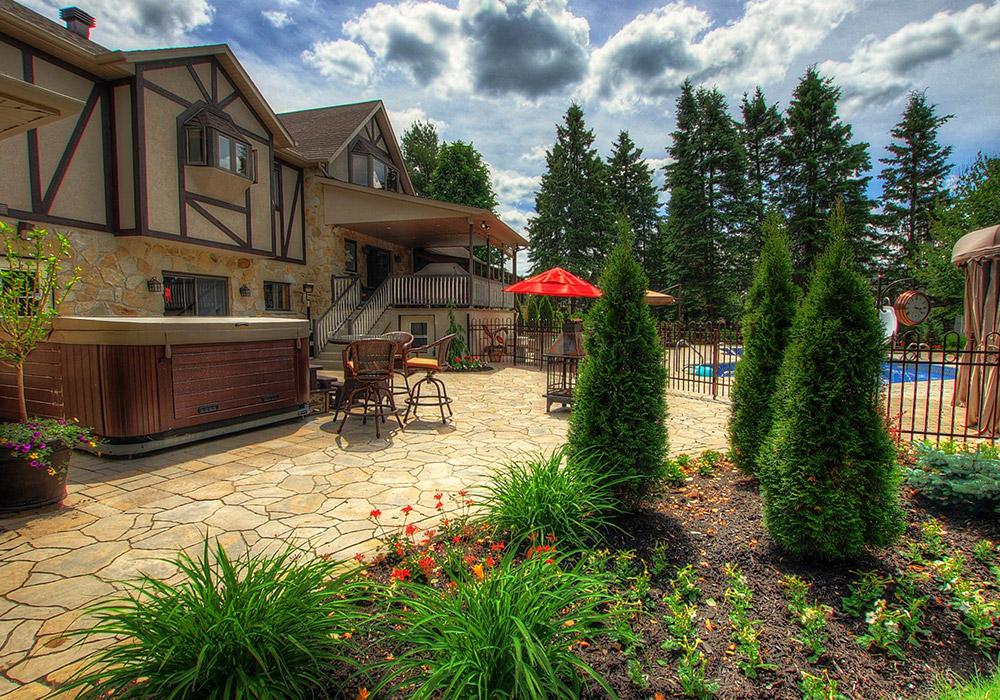am nagement paysager piscine creus e am nagement spa piscine. Black Bedroom Furniture Sets. Home Design Ideas