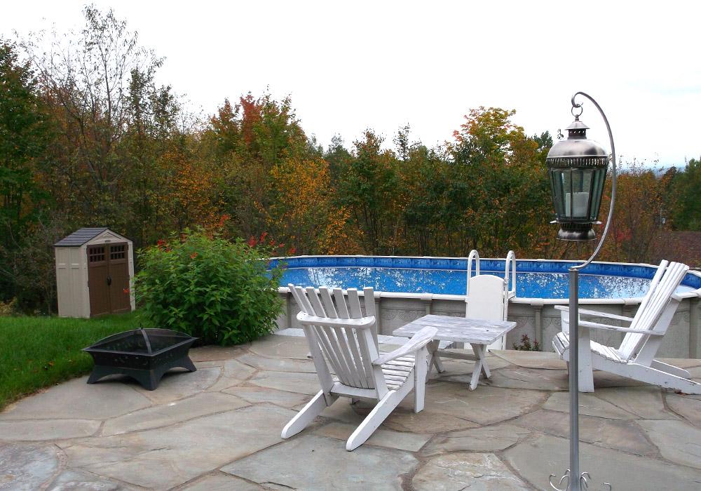 Am nagement paysager piscine creus e am nagement spa piscine - Amenagement de piscine ...