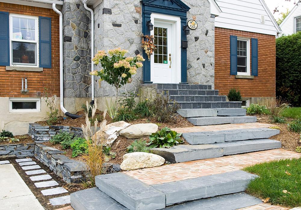 Am nagement mur de pierre terrasse en pierre taille de pierre - Travaux entretien maison ...