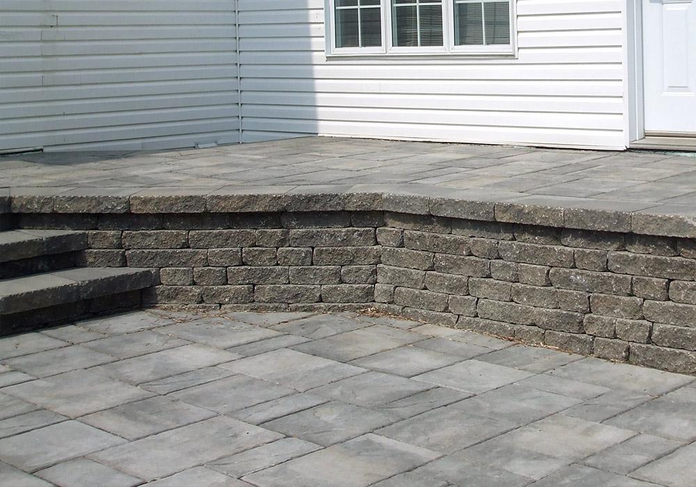 mur de pierre muret de pierre ext rieur profil jardins. Black Bedroom Furniture Sets. Home Design Ideas