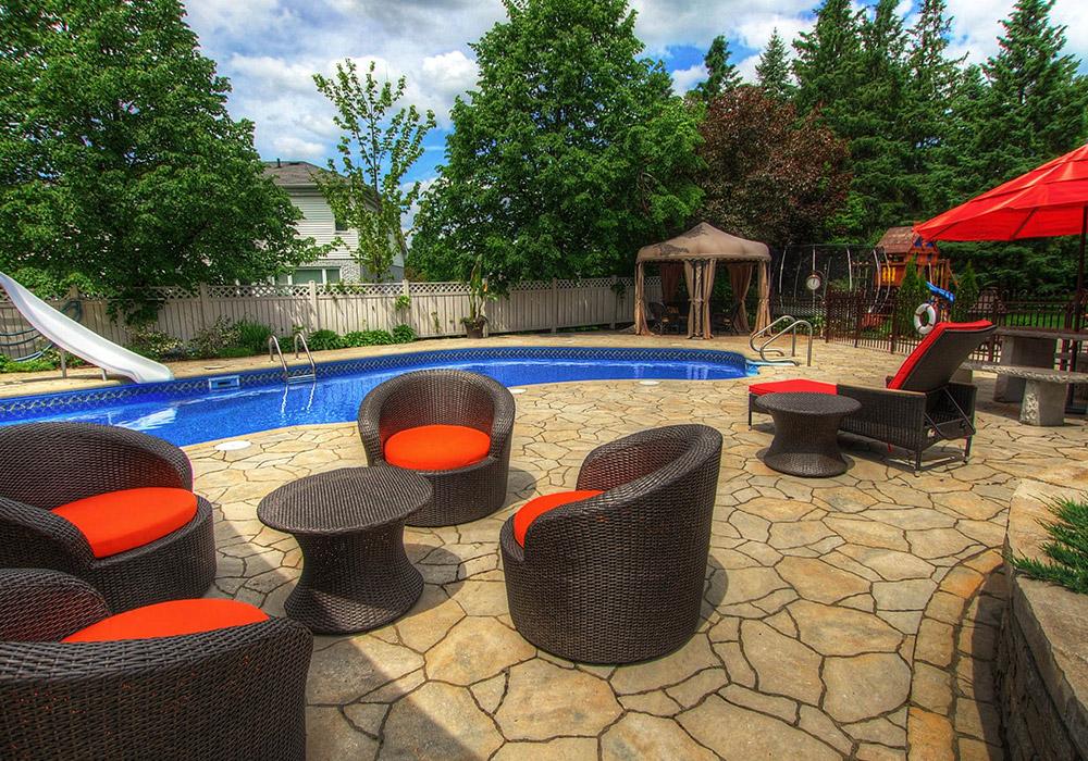 Très Aménagement paysager piscine creusée - Aménagement Spa & Piscine UE39
